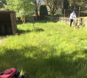bearsden grass cutting