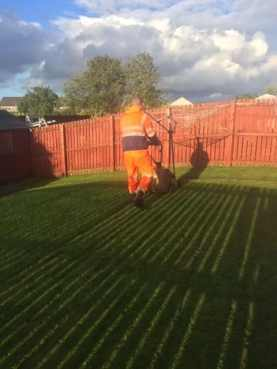 Baillieston Grass Cutting 2