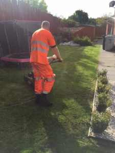 Strathaven grass cutting