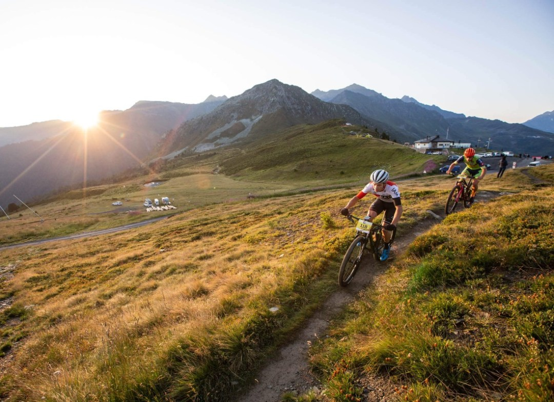Mountain biking in Champéry