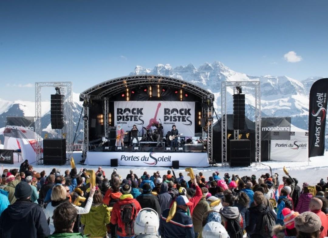 Rock the Pistes Festivals Champéry