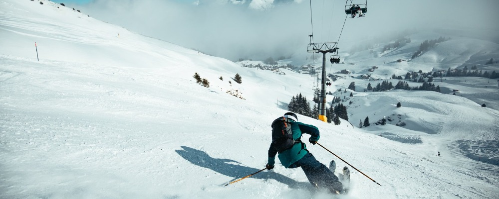 Skiing Portes du Soleil