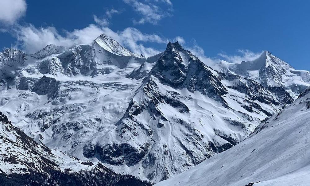 Grimentz Mountains