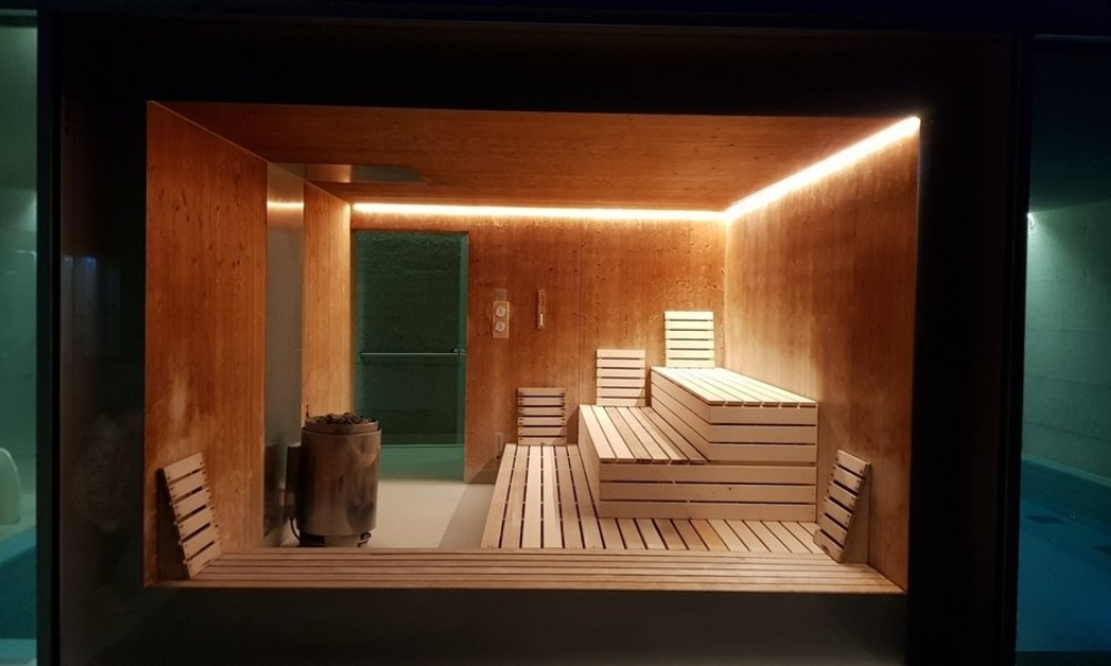 ZINAL SWIMMING POOL AND WELLNESS CENTER SAUNA