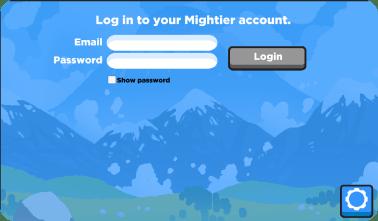 Mightier Log in