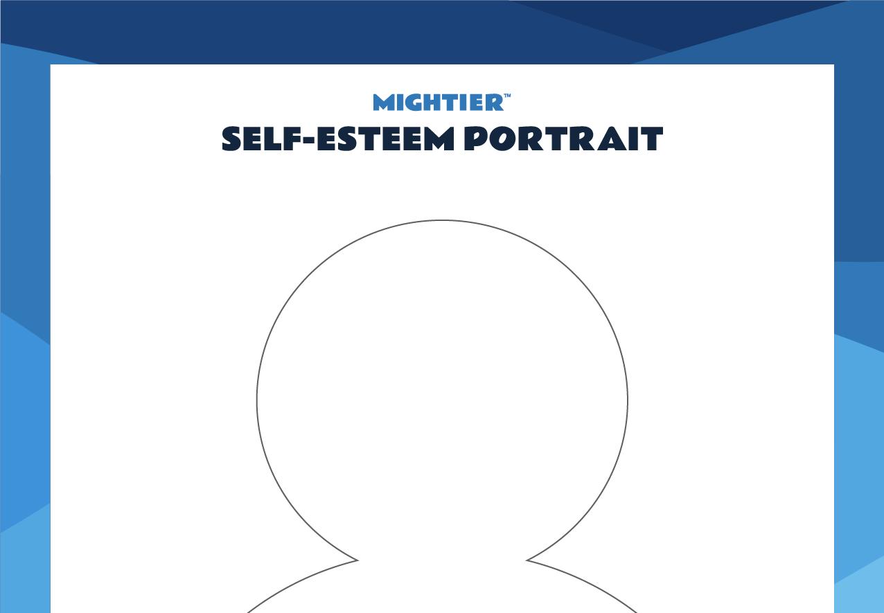 Self Esteem Portrait LP Worksheet r1 circle of control worksheet v1