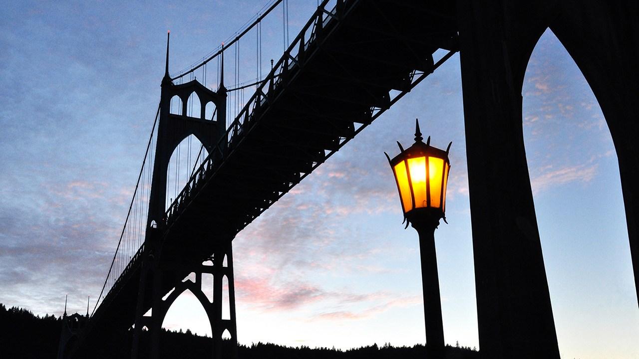 St. Johns Bridge at Dusk
