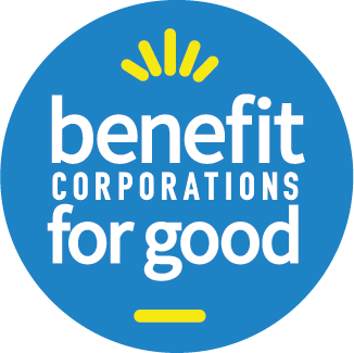 Benefit Corporations for Good logo
