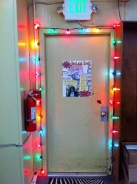 Library Door Decorations & CRJH Library December Door ...