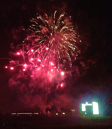 Fireworks for the 4th