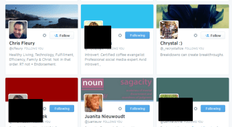 Twitter Profiles with missing header image
