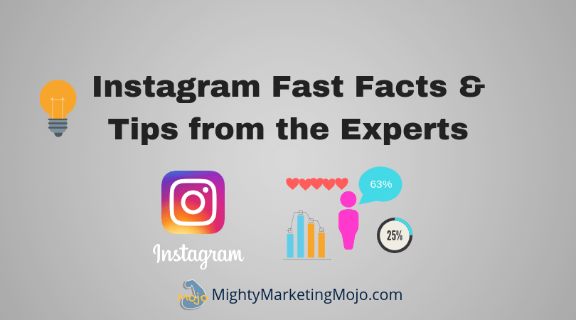 mighty marketing mojo tips facts from instagram experts