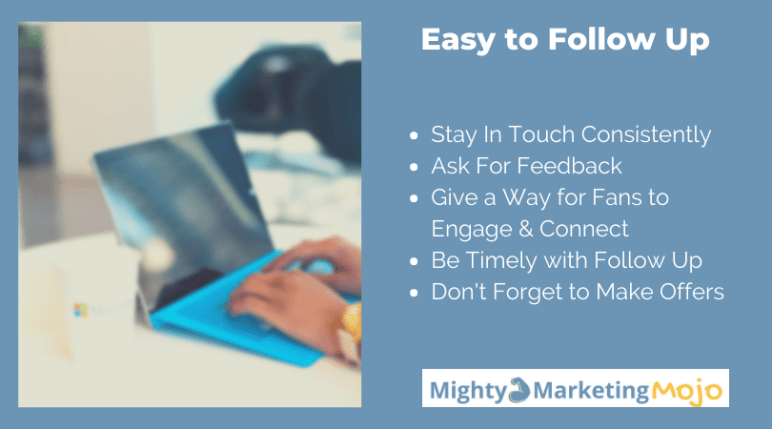 Tips for Customer Focused Easy Follow up in Marketing
