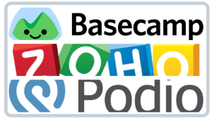 Alternative project management tools Basecamp Zoho Podio