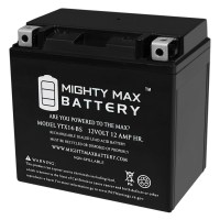 YTX14-BS – 12V 12AH  200 CCA – SLA Battery