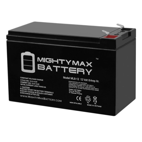 12V 8Ah Battery Replacement for Powerware PW5125-1500i
