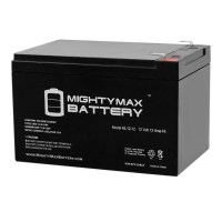 12V 12AH SLA Battery Replacement for John Deere Buck EXT IGOR0013