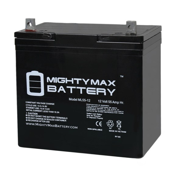12V 55Ah SLA Battery for Pillar Technology Deluxe Powerchair