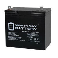 12V 55Ah Battery Replacement for Johnson Controls GC12550 22NF