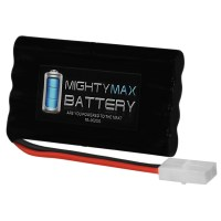 9.6V 2000mAh NiMH BATTERY REPLACEMENT FOR RC BOATS W/ TAMIYA CONNECTOR