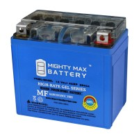 YTX5L-BS GEL MOTORCYCLE BATTERY REPLACEMENT – 12V 4AH – 80 CCA