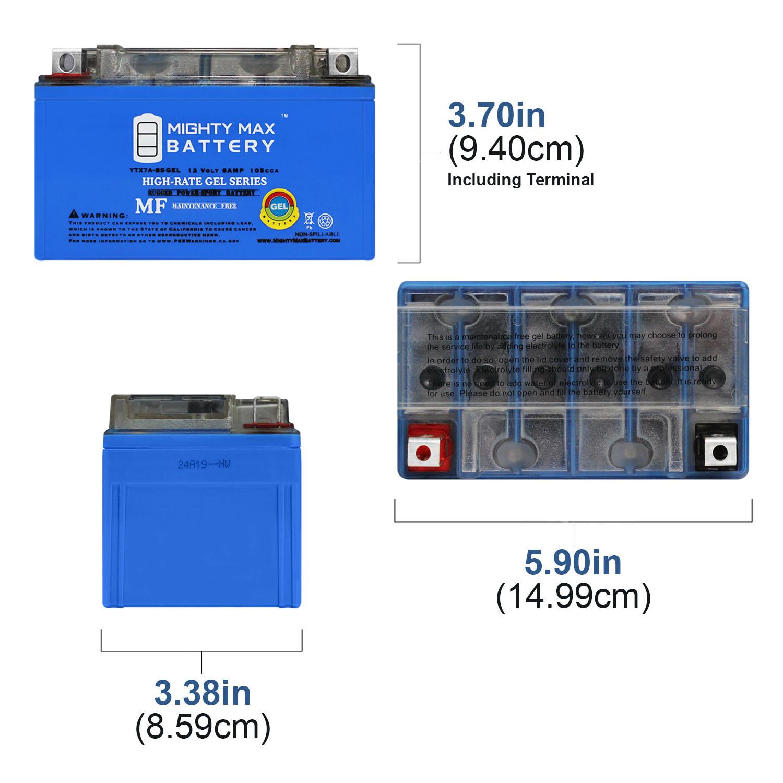 Vertex Battery For Peugeot Tweet 125 2014