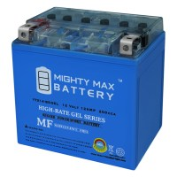 YTX14-BS 12V 12AH GEL Battery Replacement for PS-14BS-38 Powersport