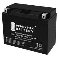 YTX24HL-BS – 12V 21AH 350CCA – Sealed Lead Acid Battery