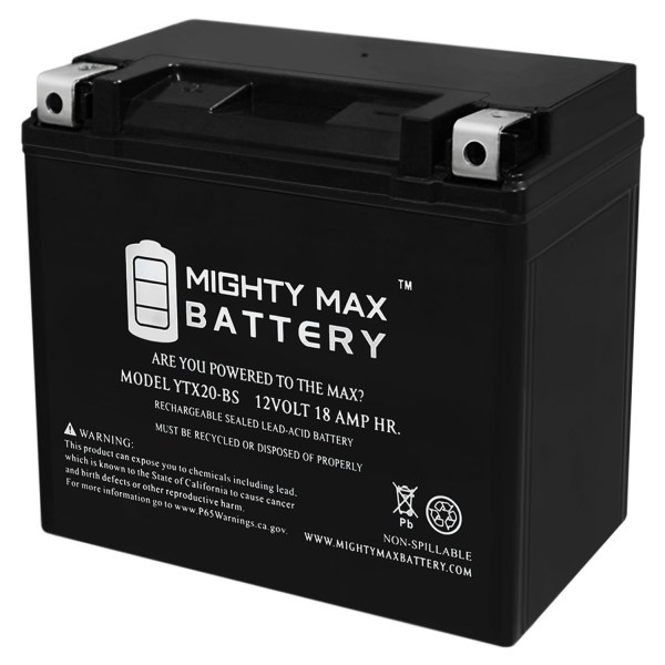 12V 18Ah Battery Replacement for Arctic Cat Z1, TZ1, F1100 01-14