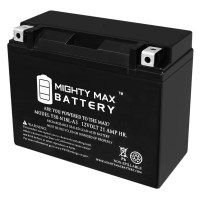 Y50-N18L-A3 Maintenance Free AGM Motorcycle Battery