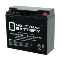 12 Volt 18 AH SLA Internal Thread Battery