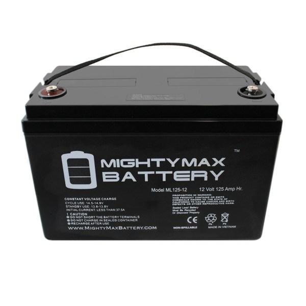 12V 125AH SLA Battery for Solar Wind Energy PV Panel