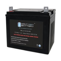 ML-U1-CCAHR 12V U1 320CCA Battery with NB terminal
