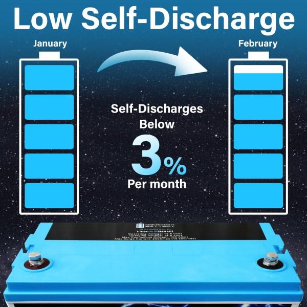 12V 100AH Lithium Battery for PowerG 1800 Solar Mobility Generator