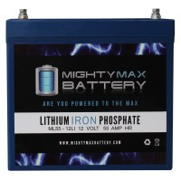 ML55-12LI – 12V 55AH Deep Cycle Lithium Battery