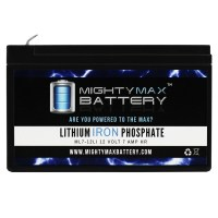 12V 7AH Lithium Replacement Battery for Streamlight HID Litebox