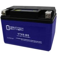 YTX9-BSLIFEPO4 12V 210CCA Lithium Iron Phosphate Battery