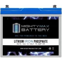 ML75-12LI - 12V 75AH Deep Cycle Lithium Battery