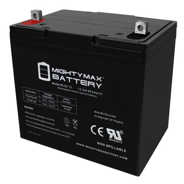 ML55-12 - 12V 55AH SLA Battery