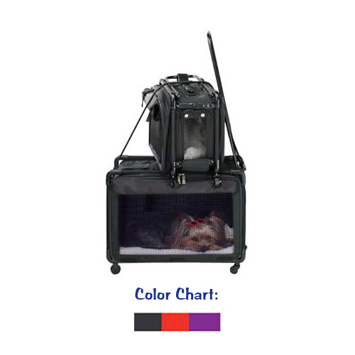 6e32e294a3 Airline Approved Pet Carrier Tutto Pet on Wheels