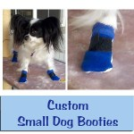 Custom Small Dog Booties