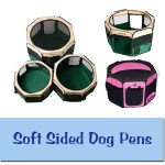 Soft Sided Dog Pens