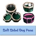 Soft Sided Dog Pens