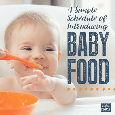 A Simple Schedule of Introducing Baby Food