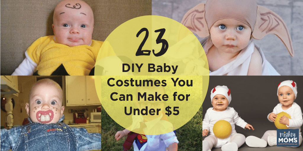 23 Diy Baby Costumes You Can Make For Under 5 Incredible Infant