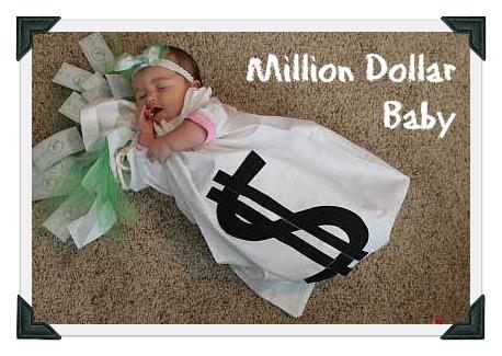 DIY baby costume for million dollar baby - MightyMoms.club