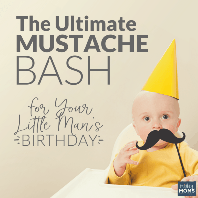 The Ultimate Mustache Bash for Your Little Man's Birthday