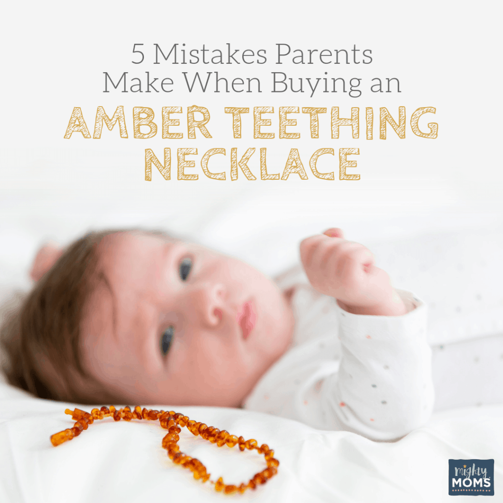 Shopping for an amber teething necklace? Don't make these mistakes! MightyMoms.club