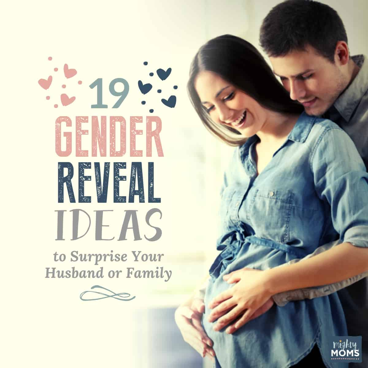 19 gender reveal surprise party ideas