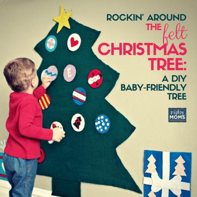 Rockin' Around the Felt Christmas Tree: A DIY Baby-Friendly Tree